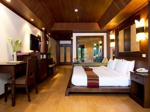 Stilvolles Zimmer im Resort auf Koh Phangan