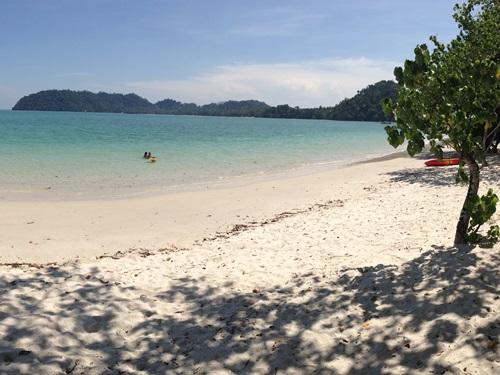 Strand von Koh Phayam