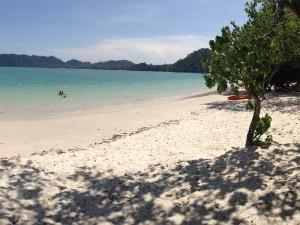 Einsamer Strand auf Koh Phayam