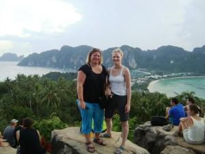 Toller Ausblick auf Koh Phi Phi