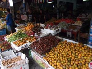 Marktstand auf Koh Samui