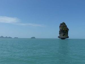 Blick aufs Meer vor Koh Samui