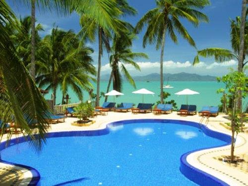 Bungalowanlage auf Koh Samui mit Pool