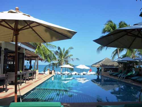 Hotelpool Koh Samui Thailand Reise