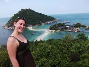 Aussichtspunkt auf Koh Nang Yuang bei Koh Tao