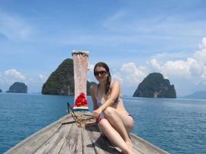 Eine typische Reisekrankheit in Thailand ist der Sonnenbrand