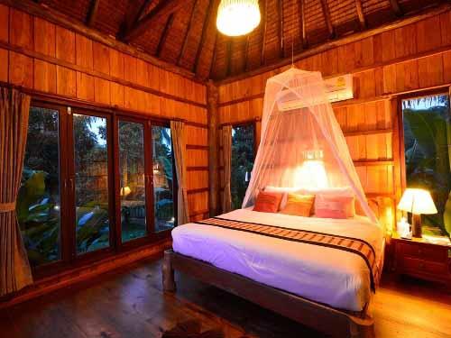 Gemütlich eingerichtetes Zimmer auf Koh Yao Yai