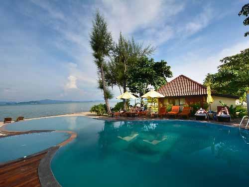 Pool im gemütlichen Resort auf Koh Yao Yai