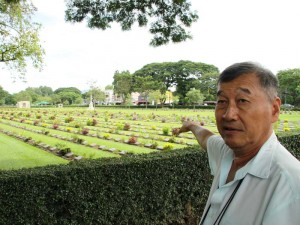 Der Friedhof am Burma Railway Museum