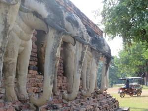 Tempelruinen in Sukhothai