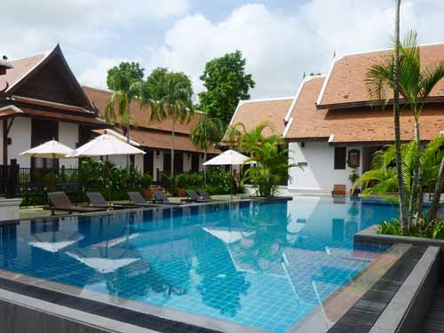 Hotel in Sukhothai mit Pool zur Erfrischung