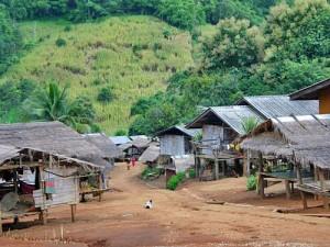 Ein Bergdorf im Norden Thailands