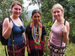 Einheimische bei Thailand Rundreise treffen