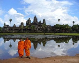 Die berühmten Tempel von Angkor Wat