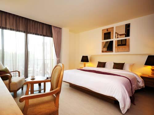 Komfortables Hotelzimmer Bangkok Thailand Rundreise