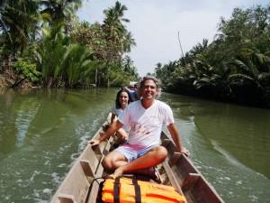 Anreise nach Klong Noi mit dem Longtailboot