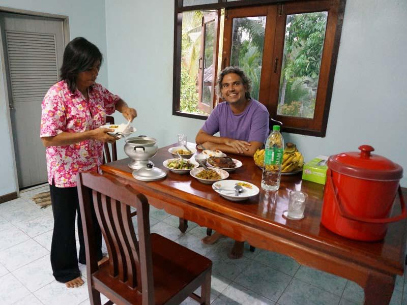 Zu Gast bei einer thailändischen Familie