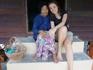 Familiäre Atmosphäre bei Ihrer Gastfamilie in Klong Noi