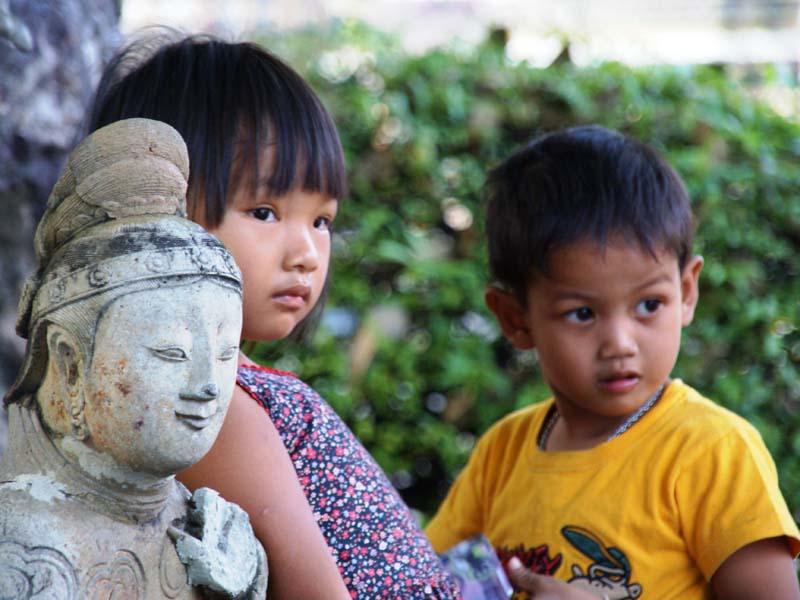 Einheimische in Thailand kennen lernen