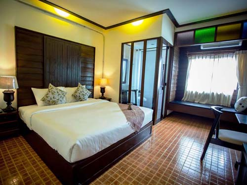 Zimmer Stadthotel Chiang Mai Thailand