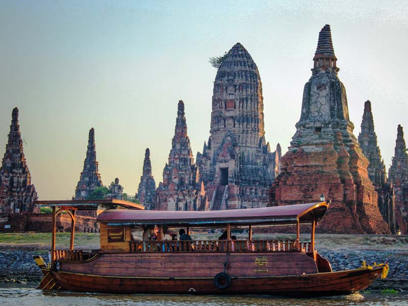 Königsstadt Ayutthaya