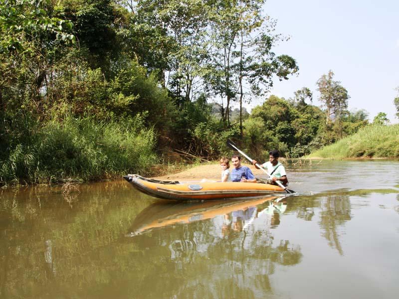 Kanufahrt auf dem Sok River