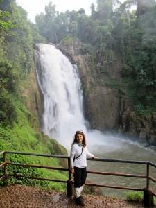 Ein Wasserfall im Khao Yai Nationalpark