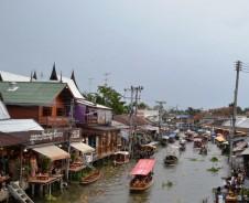 Amphawa – Schwimmender Markt