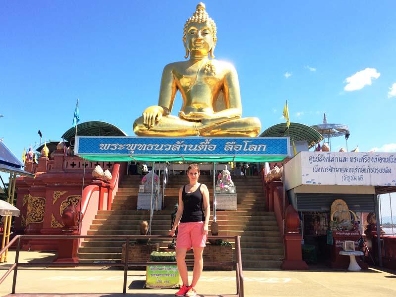 Am Goldenen Dreieck in Thailand