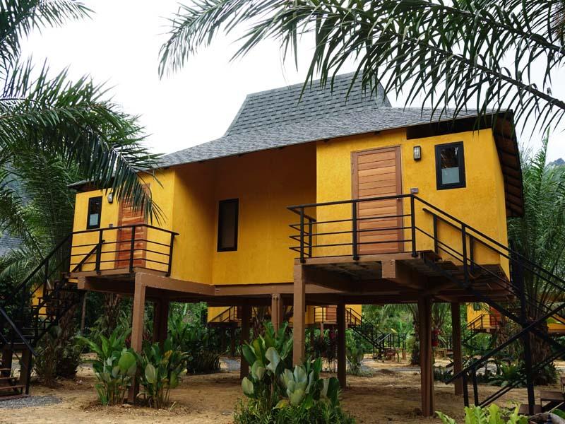 Gemütliche Lodge im Khao Sok Nationalpark