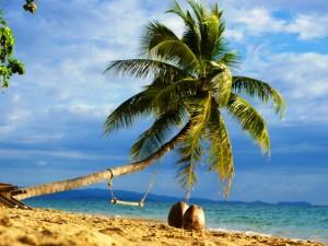 Der weitläufige Strand von Koh Chang