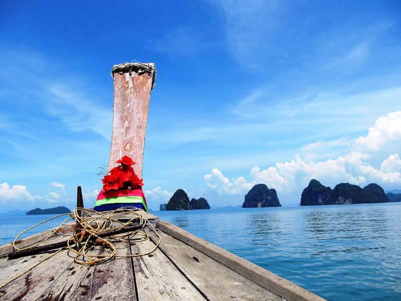Erkunden Sie bei einer Bootstour die Phang Nga Bucht
