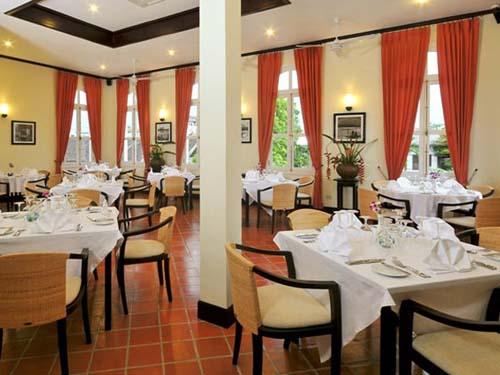 Restaurant und Frühstücksbereich