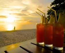 Sonnenuntergänge auf Koh Jum und Koh Lanta