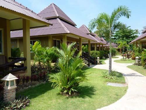 Komfortable Bungalows auf Koh Lanta