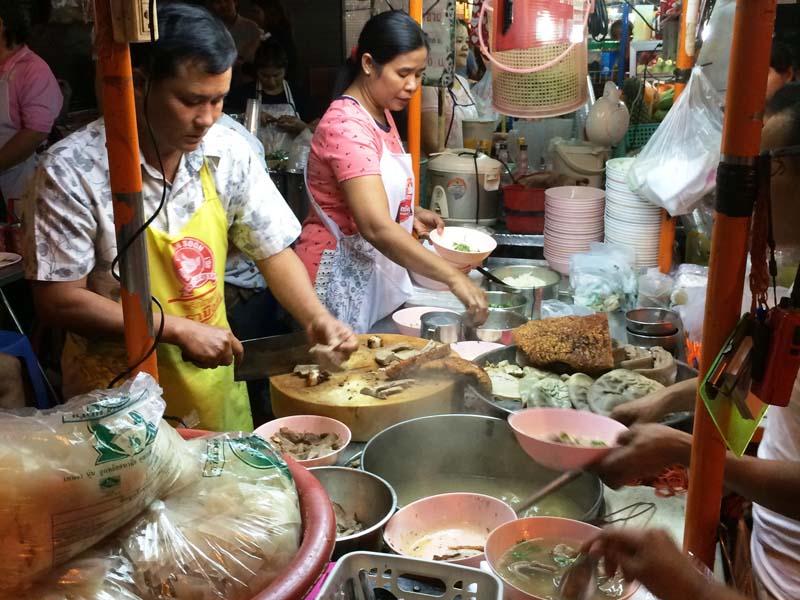 Besuchen Sie China Town in Bangkok