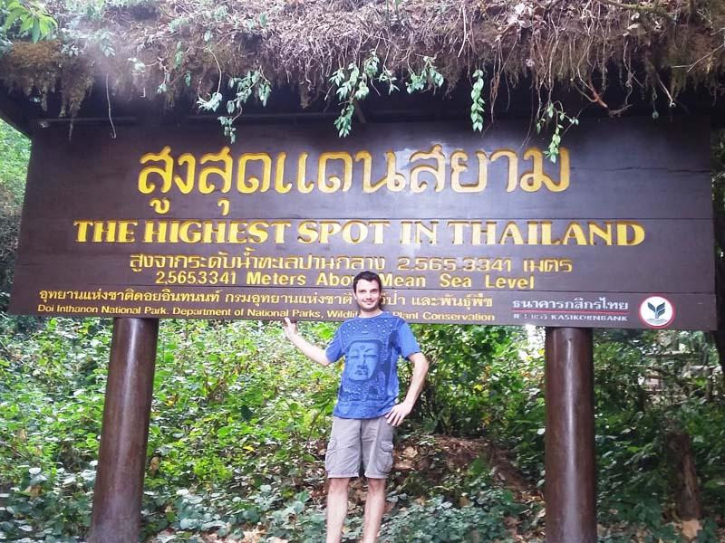 Chiang Mai Ausflug: Auf dem Weg zum Doi Inthanon