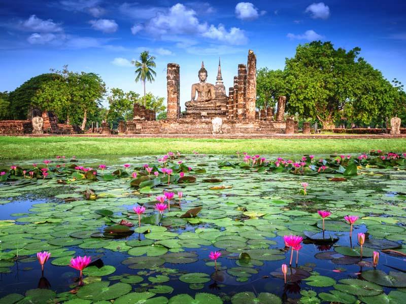 3 Wochen Thailand - Besuch der Tempel von Sukhothai