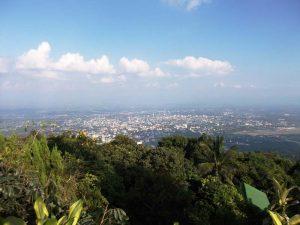 Ausblick vom Doi Suthep auf Chiang Mai