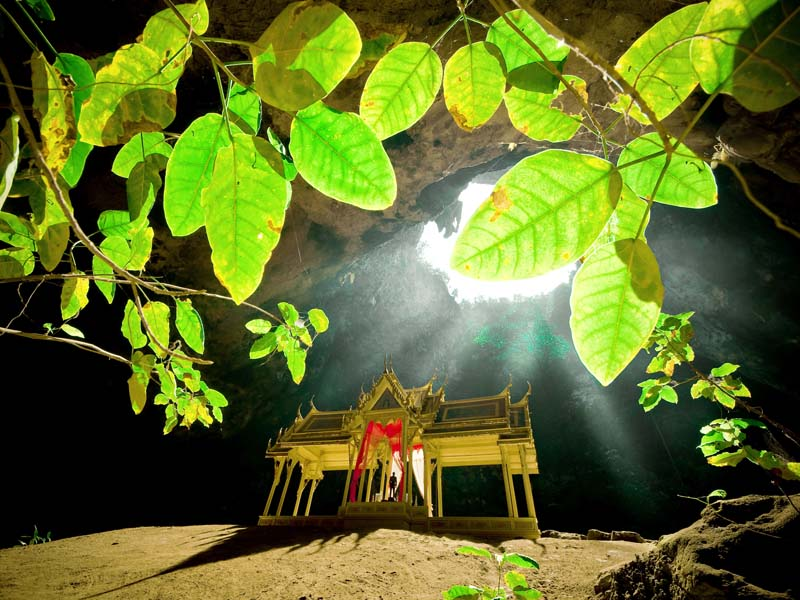 Höhle im Sam Roi Yot Nationalpark