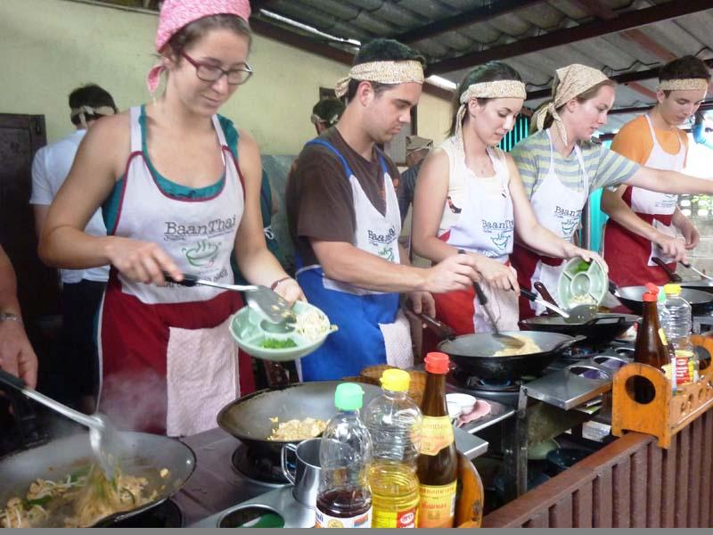 Thailändisch Kochen beim Kochkurs in Chiang Mai