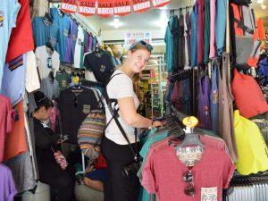 Thailand Rundreise und Badeurlaub - Marktstand auf dem Chatuchat Markt in Bangkok