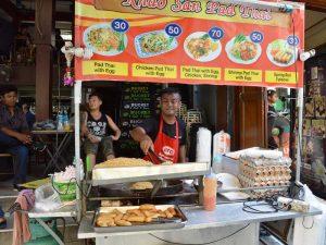 Garküchen sind in Thailand weit verbreitet