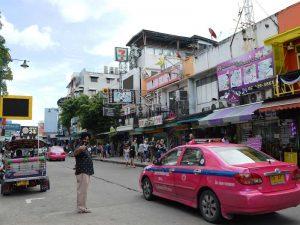 Die Taxi-Preise in Thailand sind günstig
