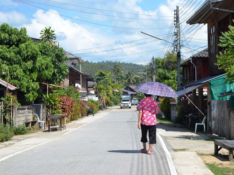 Dorf in der Nähe von Mae Hong Son