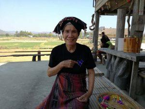 Begegnung mit einer Einheimischen
