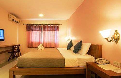 Gemütliches Zimmer im Hotel in Loei