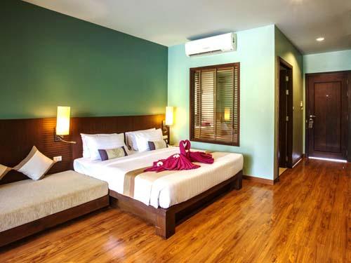 Komfortable Zimmer auf Koh Lanta