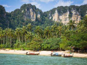 Krabi und Ao Nang sind beliebte Strandorte in Thailand