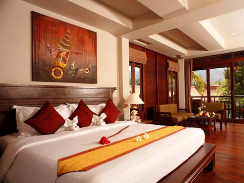 Zimmer im Thai Stil im Khao Lak Hotel